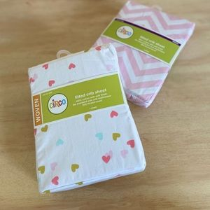 Circo Fitted Crib Sheets (2 designs)